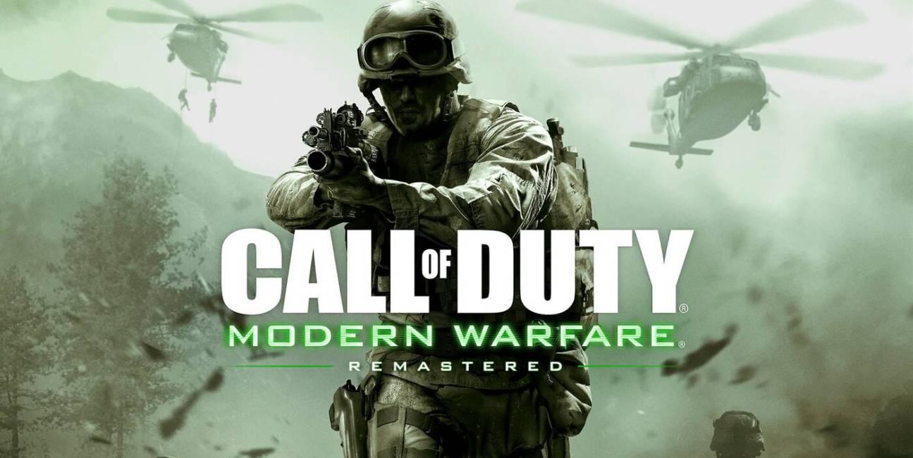 Call of Duty Modern Warfare Remastered WN_header