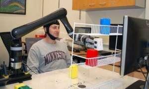 Robotyczne ramię sterowane przez siłę umysłu