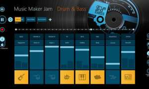 Music Maker dostępny z poziomu Windows Store