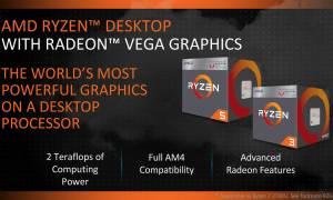 Ryzen 3 2200GE i Ryzen 5 2400GE energooszczędnymi następcami najnowszych APU od AMD