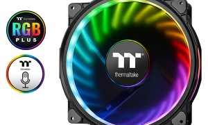 Thermaltake wypuszcza na rynek wentylatory Riing Plus 20 LED RGB Case Fan TT Premium Edition