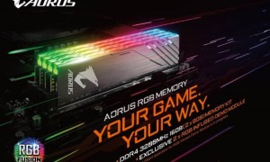 Gigabyte zapowiada wejście na rynek DDR4 z serią AORUS RGB