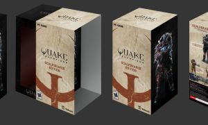 Quake Champions Scalebearer Edition z wielką figurką