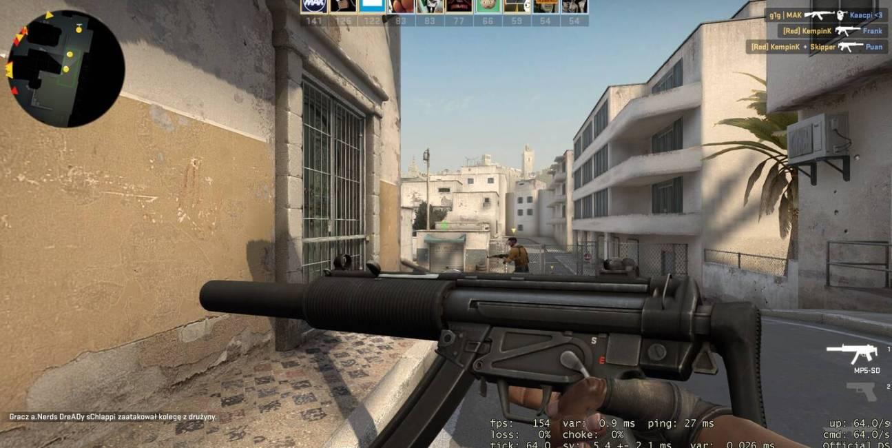 MP5-SD, CS GO, Valve, Steam, CS:GO, nowa broń, szczegóły, MP7, MP5