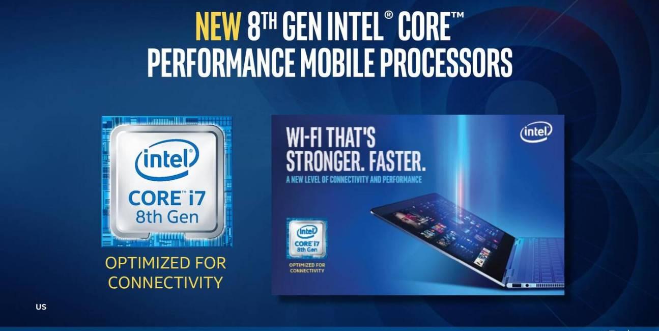 Intel, CPU, laptopy, notebooki, ultrabooki, Intel Core, i7, i5, i3, Amber Lake, Whiskey Lake, mobile