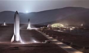 A tak będzie wyglądała baza SpaceX na Marsie