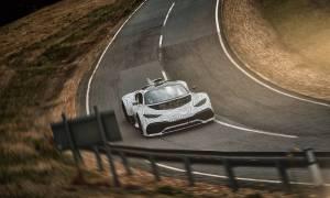 Supersamochód Mercedes-AMG Project One wyjechał na ulice