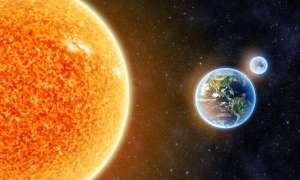 Woda w jądrze Ziemi może pochodzić z pyłu wirującego wokół Słońca