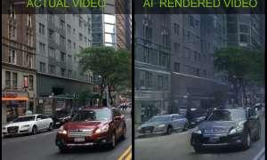 Nvidia wyrenderowała pierwszy świat wirtualny z wykorzystaniem SI