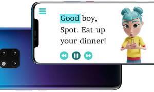Aplikacja Huawei używa SI w pomaganiu niesłyszącym dzieciom w czytaniu