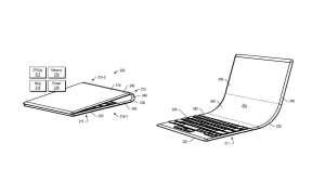Lenovo patentuje urządzenie ze zginanym ekranem i fizyczną klawiaturą