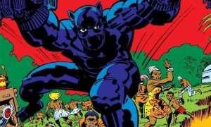 Pierwszy szkic Czarnej Pantery. T'Challa miał wyglądać zupełnie inaczej