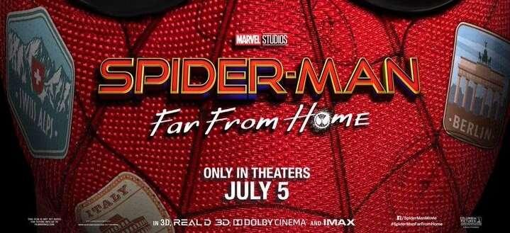 trailer filmu Spider-Man: Far From Home