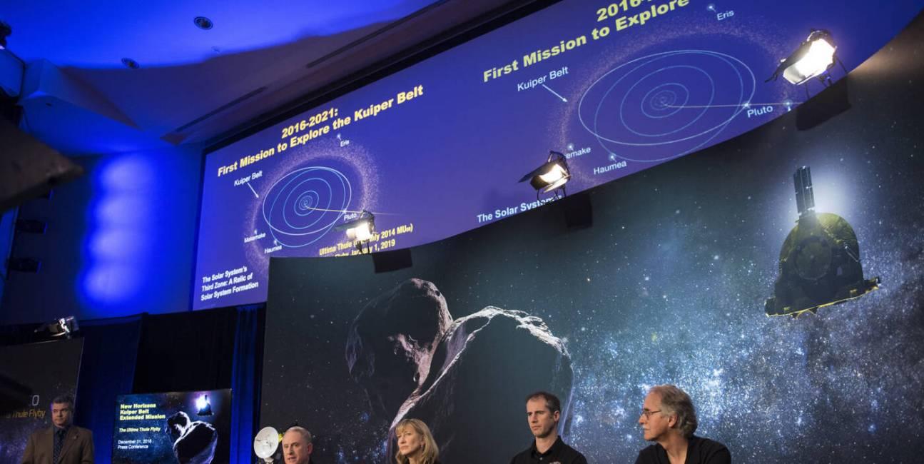 New Horizons, ultima thule, sonda New Horizons, dane New Horizons, kosmos New Horizons