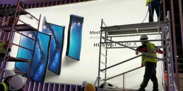 składany smartfon Huawei, Huawei Mate X, Huawei składany smartfon, zginany smartfon Huawei