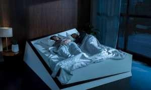 Ford stworzył łóżko z wykorzystaniem samochodowego asystenta toru jazdy