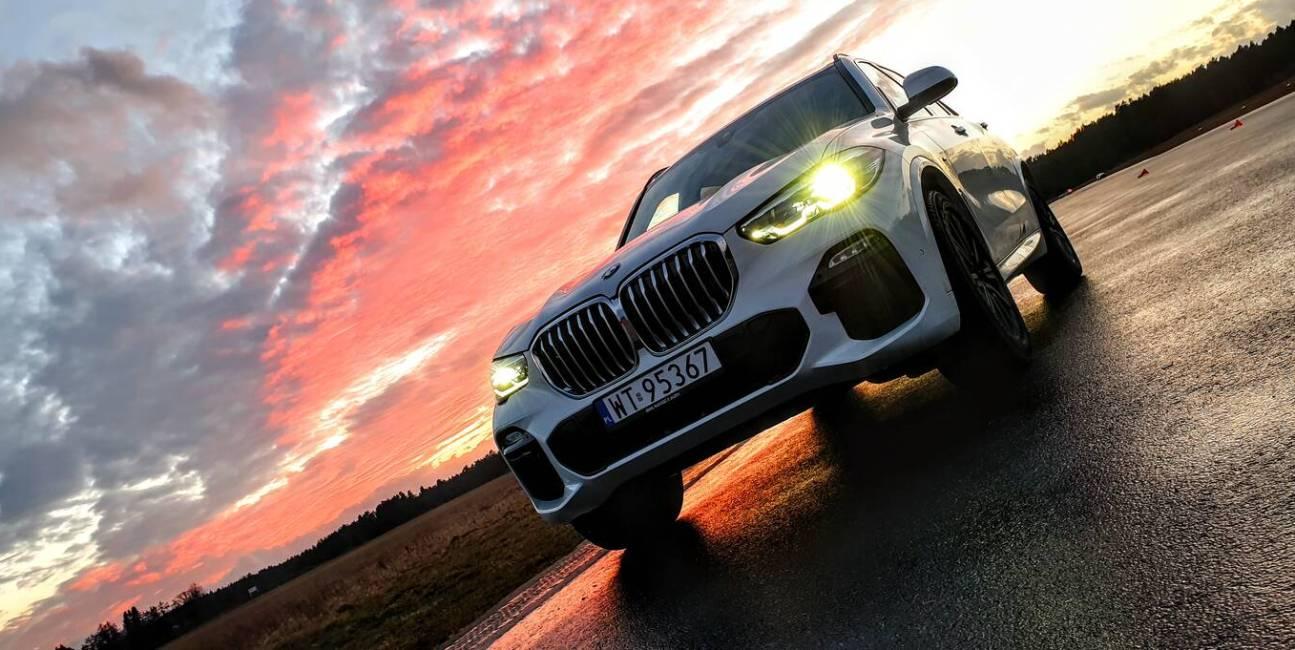 Test BMW X5 i seria 8 - jest sztos!