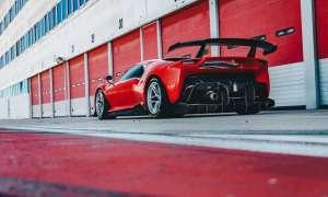 Supersamochód P80/C kolejnym jednostrzałowcem Ferrari