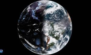 Wiosenna równonoc uchwycona na zdjęciu satelitarnym