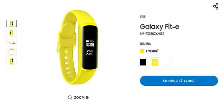 Galaxy Fit-e, samsung Galaxy Fit-e, cena Galaxy Fit-e, specyfikacja Galaxy Fit-e, wygląd Galaxy Fit-e