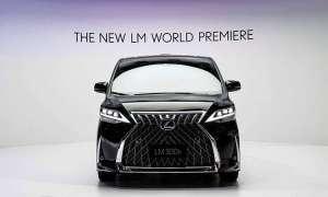 Luksusowy minivan LM od Lexusa