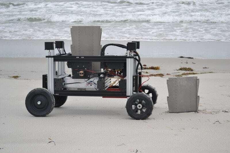 Poznajcie ROMU - robota chroniącego środowisko przed erozją
