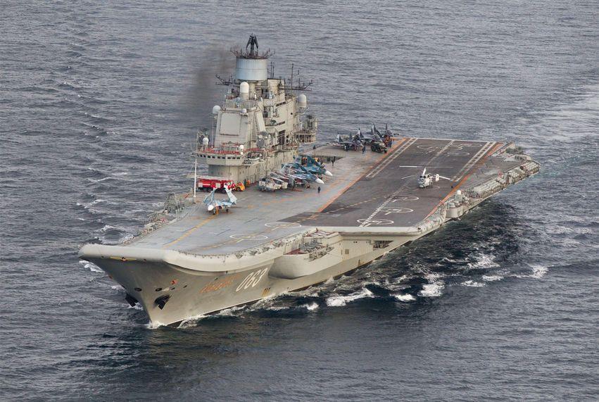 Jedyny lotniskowiec Rosji może zostać wkrótce przerobiony na żyletki