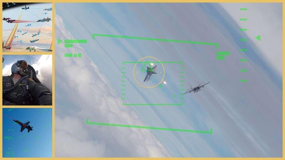 DARPA chce zautomatyzować walki powietrzne autonomicznym skrzydłowym dronem
