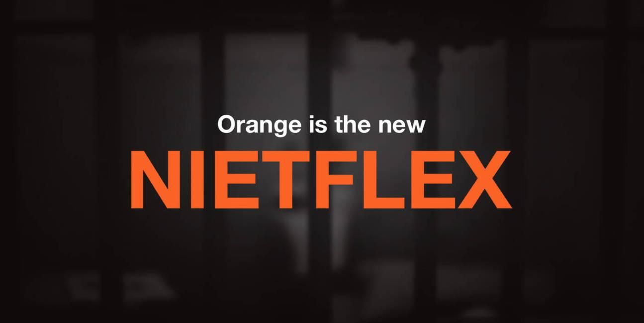 Orange is the new Nietflex
