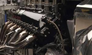 Tego Rolls-Royce napędza 27-litrowa V12 Merlin z myśliwca II Wojny Światowej