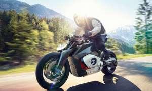Wizja elektrycznego motocykla BMW Vision DC Roadster