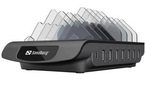 Test stacji ładującej Sandberg Multi USB Charging Station