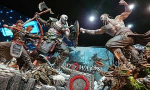 Kratos, Baldur i Atreus na figurkach za kilka tysięcy