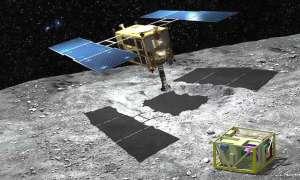 Japońska sonda kosmiczna Hayabusa 2 uderzyła w asteroidę