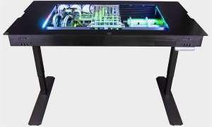 Biurko z wbudowanym komputerem, które kosztuje więcej niż samochód