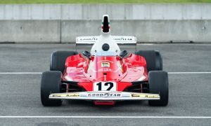 Ferrari 312T zwyciężyło w sezonie F1 w 1975 roku, a teraz może być Wasze