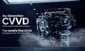 Hyundai ogłosił pierwsze na świecie silniki CVVD