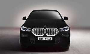 BMW X6 Vantablack, czyli najczarniejszy samochód w historii