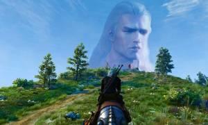 Henry Cavill jako Geralt w Wiedźminie 3