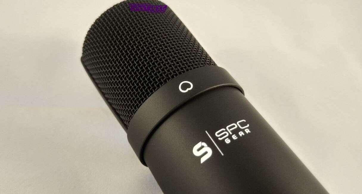 Test mikrofonu SM900 od SPC Gear