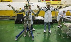 Rosyjski robot Skybot F-850 zawita na Międzynarodową Stację Kosmiczną