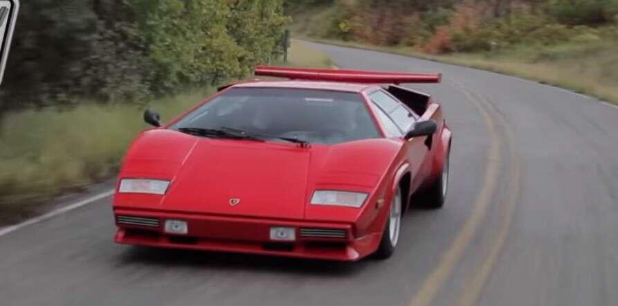Dźwięku Lamborghini Countach trudno zapomnieć