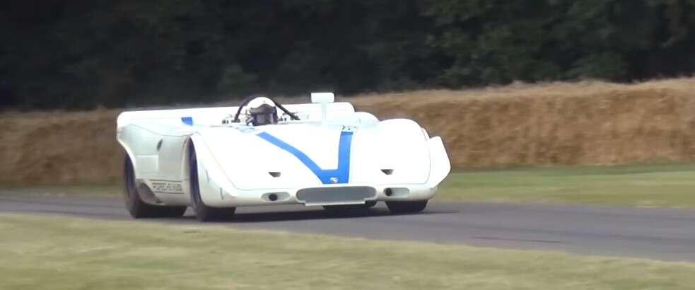 Dwunastocylindrowy bokser w tym Porsche 917 PA Spyder zachwyca