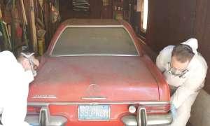 Odpicowanie samochodu po 37 latach nie jest łatwe