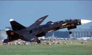 Rosyjski myśliwiec Su-47 Berkut pojawił się na pokazie