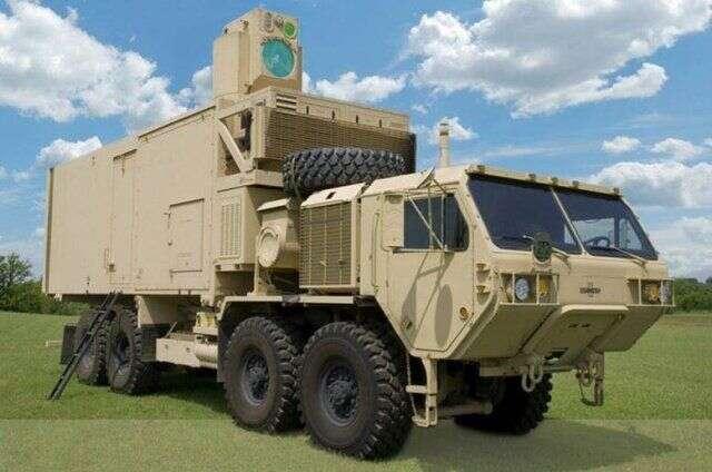 Najpotężniejsza broń laserowa w planach wojska USA