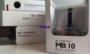 Test bungee MB10 i podkładek Lioncasta