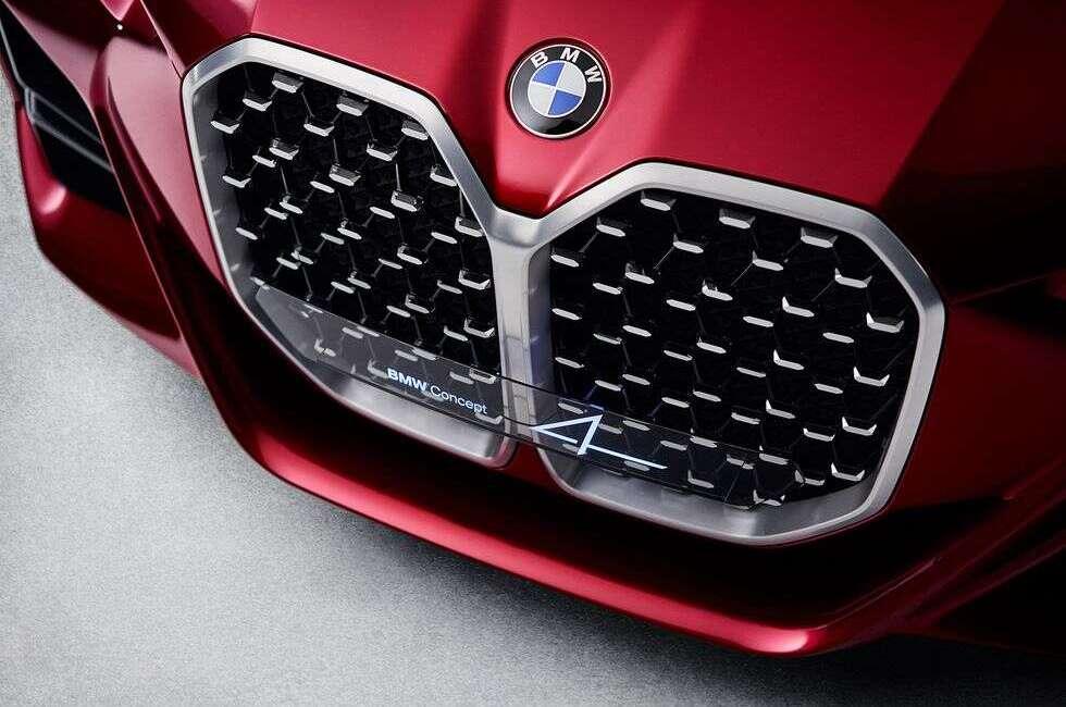 Jednego trudno nie docenić w BMW Concept 4
