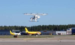 VoloCity odbył pierwszy lot na funkcjonującym lotnisku