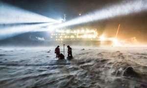 W jakim celu ogromny lodołamacz utknie na Oceanie Arktycznym?